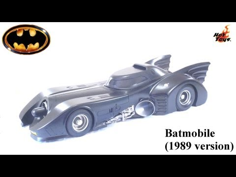 Video Review of the Hot Toys: 1989 Batmobile