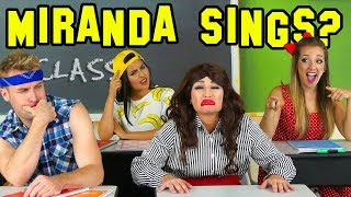 Celeb Classmates Is Miranda Sings our New Student or is She Fake? Totally TV