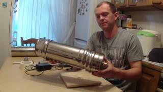 Делаем коптильню холодного копчения  Дымогенератор версия 2