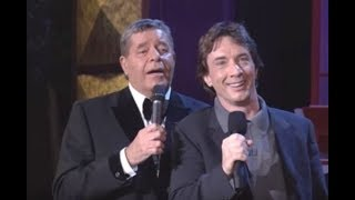 Jerry Lewis And Martin Short Riff & Sing
