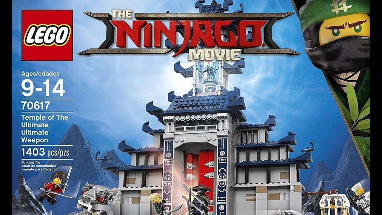 Lego Ninjago La Pelicula 70617 Templo Del Arma Totalmente
