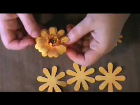 Crochet flower. Tutorial. - YouTube