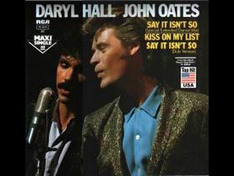 "Daryl Hall  & John Oates ""Your kiss is on my list"" karaoke"