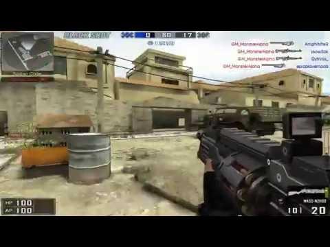 BlackShot GM Monster vs Hacker