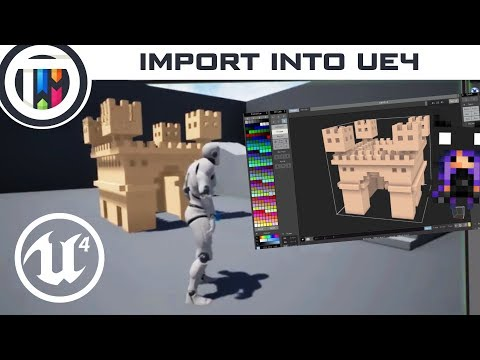 Unreal Engine 4 Tutorial - Importing...