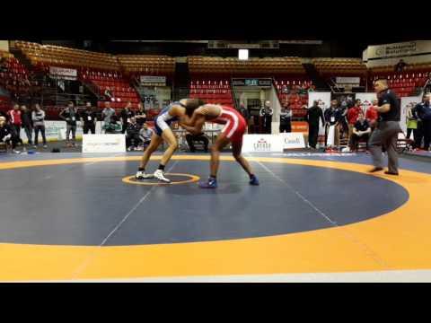 2016 Canadian Senior Championships: 74 kg Final Jevon Balfour vs. Jasmit Phulka