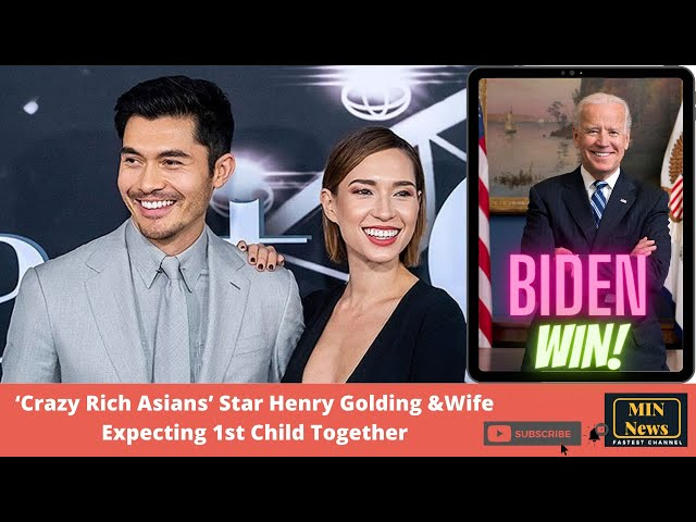 Crazy Rich Asians Star Henry Golding Wife Expecting 1st Child Together   MIN News