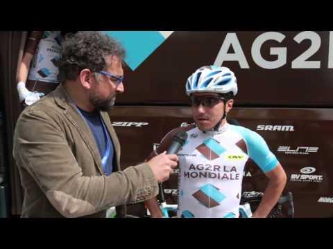 40th Giro del Trentino Melinda: Domenico Pozzovivo (Ag2r La Mondiale) before stage4