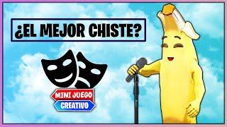 CHISTE O MUERTE *BATALLA DE CHISTES* (FORTNITE MINIJUEGOS)