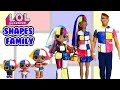 Gambar cover Shapes Family DIY Custom Fun Craft With Barbie and Ken