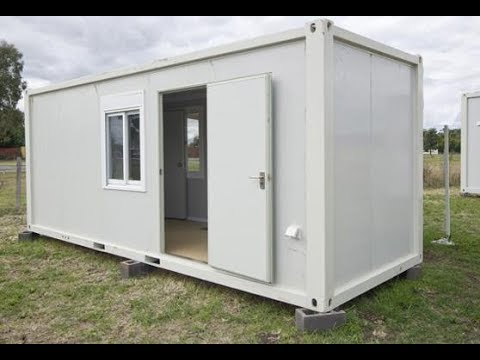 8ftx20ft flat pack container house