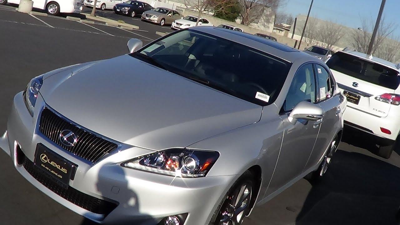 2013 Lexus IS250 Walkaround 2.5 L 4-Cylinder - YouTube