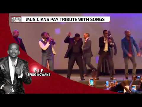 Musicians pay tribute to Sfiso Ncwane