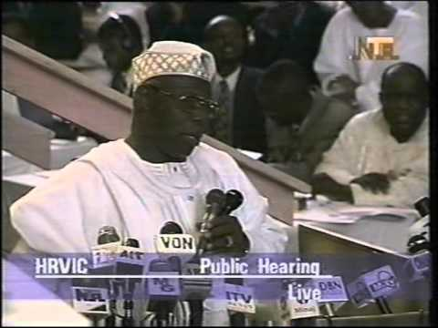 Former President Olusegun Obasanjo Answers To Fela Kuti's Petition - Oputa Panel