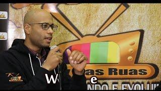 Tv Nas Ruas entrevista - O rapper Webster do ( Quebec Canada )