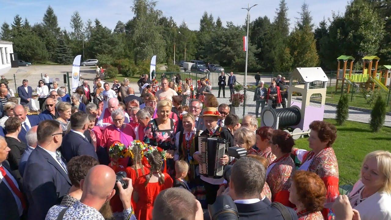 Kapela Wójtowicz Wita Pierwszą Damę - Wierzbica 2021