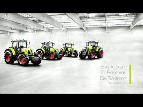 Begeisterung für Besseres. Die Traktoren. // 100 Jahre CLAAS // 100.claas.com