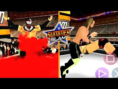 Seth Rollins vs Finn Bálor at SummerSlam Simulation Match - WR3D [Wrestling revolution]