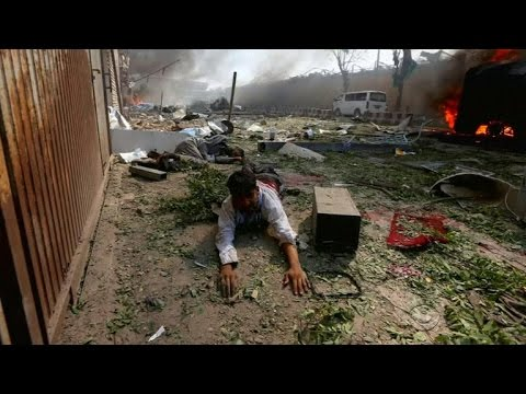 At least 90 killed in suicide truck bombing in Kabul thumbnail