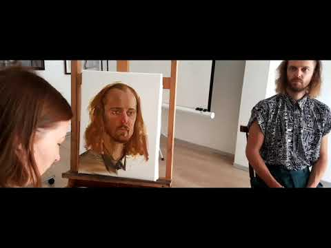 portraiture workshop (Florence academy of Russian art)