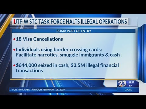 Canceled Visas and Nearly $3.5 Million In Illicit Funds Identified
