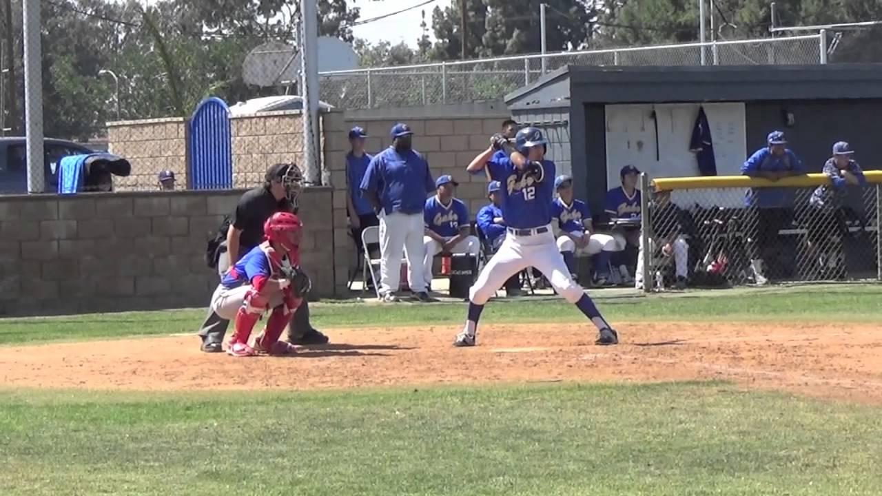High School Baseball: Gahr vs. John Glenn - YouTube
