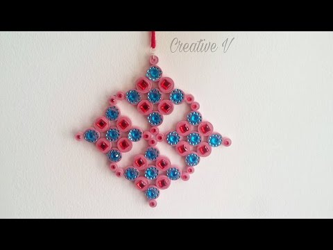 DIY Quilling Paper Wall Hanging/ Home Decor/Tutorial