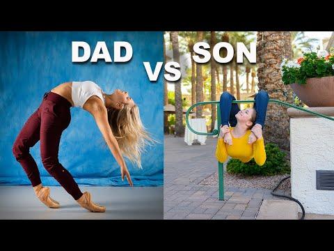FATHER vs SON PHOTO CHALLENGE (part 4)