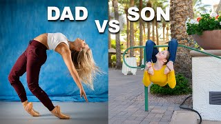 Download FATHER vs SON PHOTO CHALLENGE (part 4) Mp3 and Videos