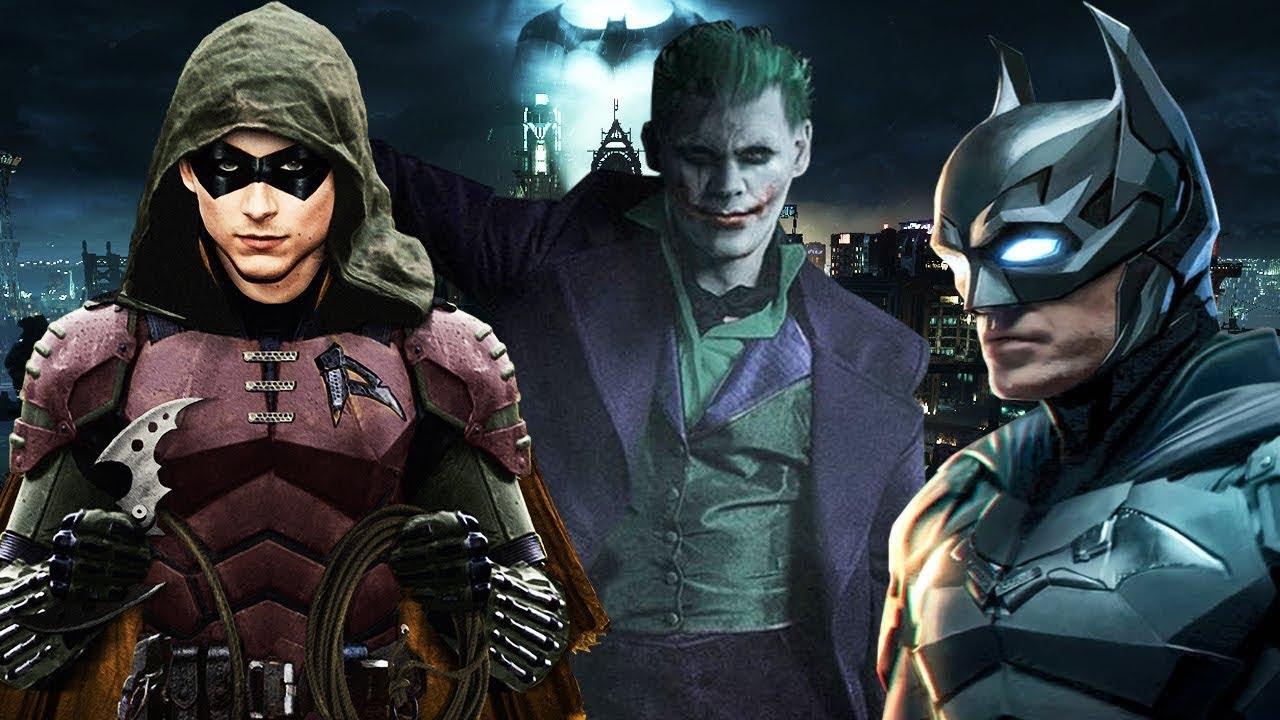 THE BATMAN 2021 THE JOKER JOHNNY DEPP REVEALED? ROBIN APPEARS ...