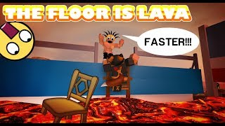 DER FLOOR IST LAVA IN ROBLOX! | herausfordern