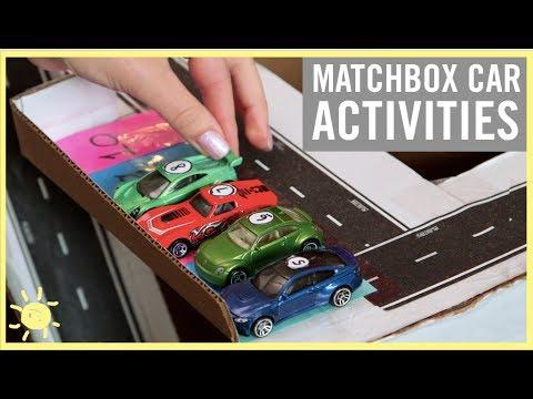 PLAY | 3 Matchbox Car Activities!