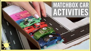 PLAY | 3 Matchbox Car Activities!