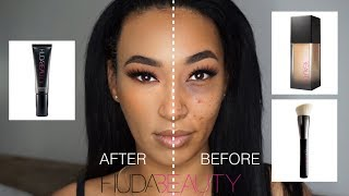 HUDA BEAUTY FAUX FILTER REVIEW + DEMO 400G MACCHIATO | LLETITIA ONLINE
