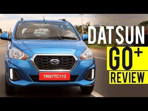 Datsun Go Plus CVT Hindi Review, CVT गियरबॉक्स वाली किफायती कीमत में 7 सीटर कार