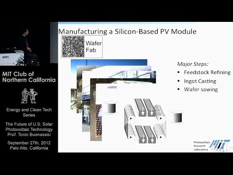 The Future of U.S. Solar Photovoltaic Technology - Tonio Buo