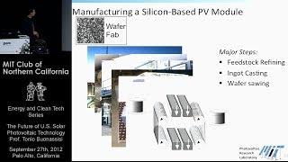 Repeat youtube video The Future of U.S. Solar Photovoltaic Technology - Tonio Buonassisi