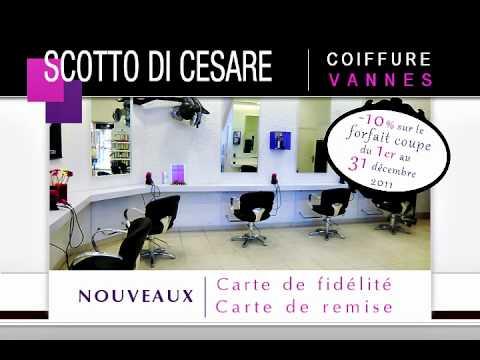 Salon de coiffure scotto di cesare vannes youtube for Salon de coiffure vannes