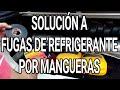 Fuga De Refrigerante Por Mangueras: Solución De Emergencia !
