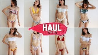 HAUL BIKINIS 2018 por MENOS de 15€ con TRY ON | Eva Molina