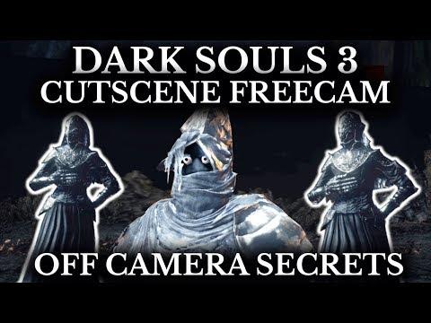 Dark Souls 3 Cutscene Free Camera - Every Unseen Detail Explored - Off Camera Secrets