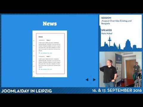 JD16DE - J!Layout Overrides Einstieg und Beispiele