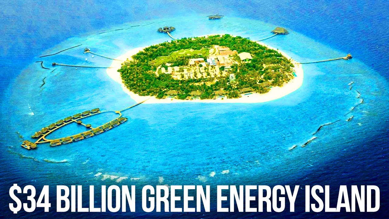 How Denmark's  Billion Green Energy Island Works