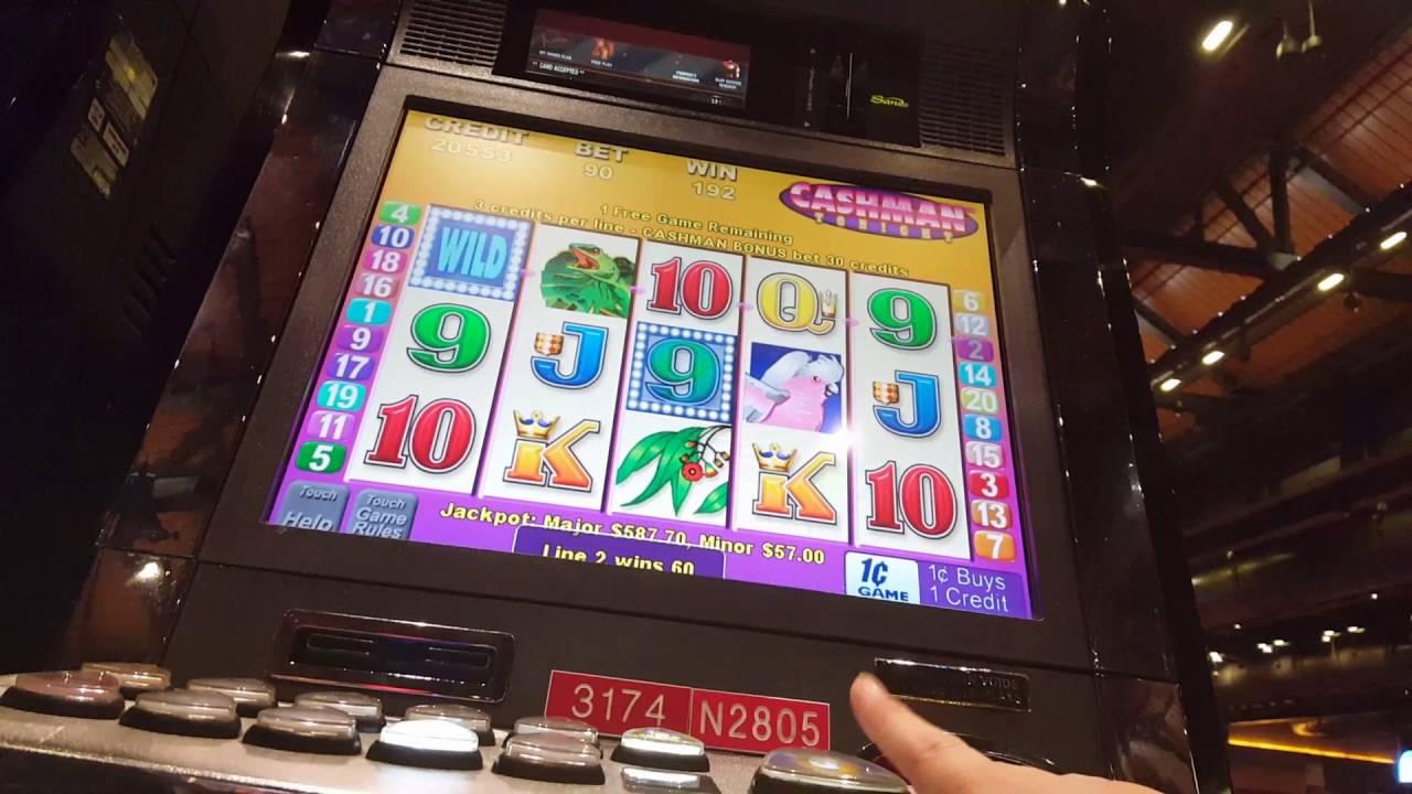 Mr cashman jailbird slot machine