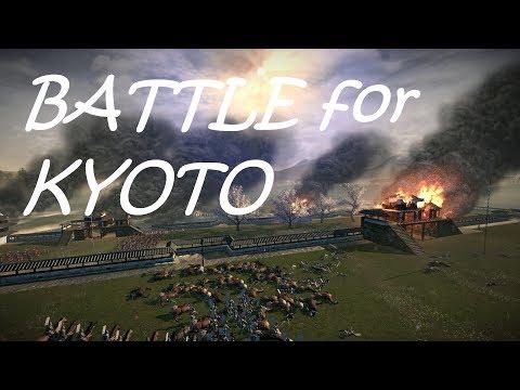 EPIC battle for KYOTO (Shogun 2)