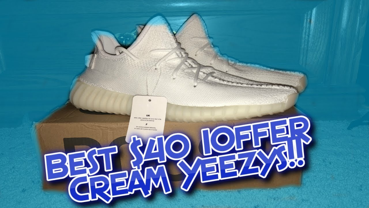 half off 27940 d2487 BEST $40 IOFFER YEEZYS!!!!! IOFFER YEEZY V2 REVIEW!