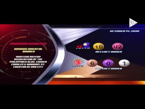 [LIVE] PCSO Lotto Draws-October 14, 20189:00PM