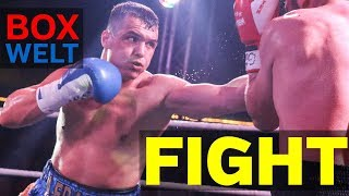 Angelo Frank vs Mikheil Mosulishvili - 10 rounds welterweight - 03.10.2017 - Zirkus Busch