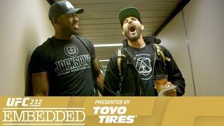 UFC 232 Embedded: Vlog Series - Episode 4