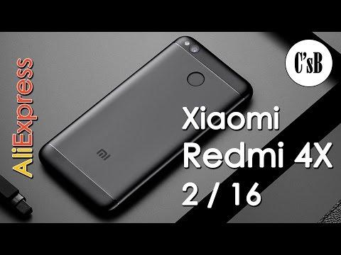 Xiaomi Redmi 4X 2/16 Полный обзор, Antutu, примеры фото и видео (с AliExpress)